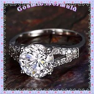 Jewelry - 🆕💎 2Ct Diamond Solitaire SS Ring 💎